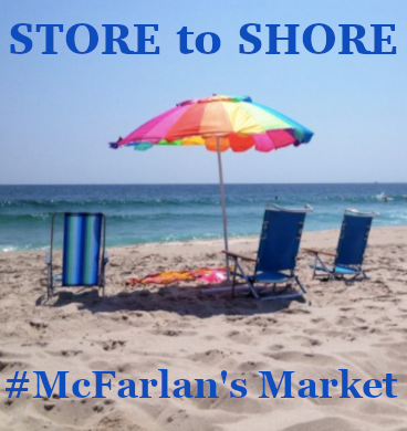 McFarlans Store to Shore Promo Ad
