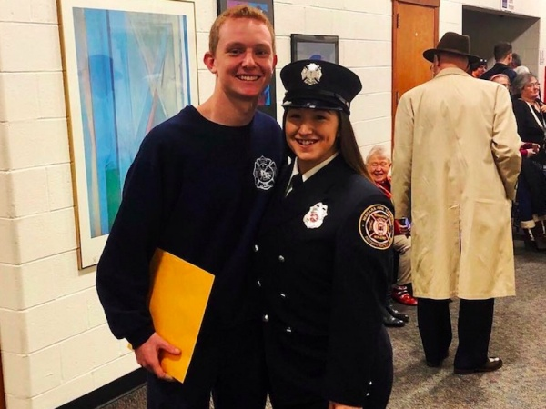 Firefighter joins Guard