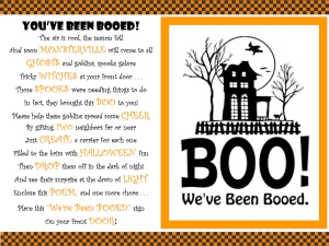"Have ""You've Been Booed!"""