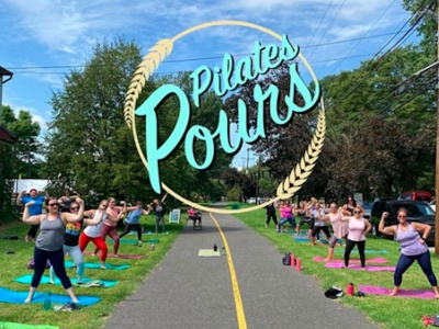 Pilates & Pours Outdoors