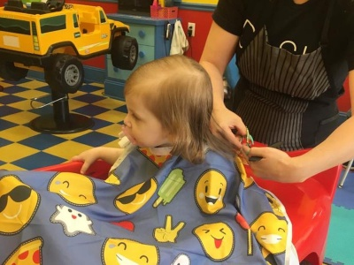 Making haircuts fun