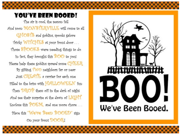 "Let the ""Boo-ing"" Begin!"