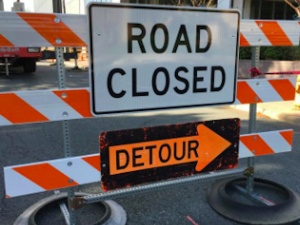 River Road and Union Avenue Detours