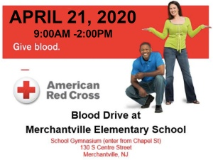 Give Blood at MES