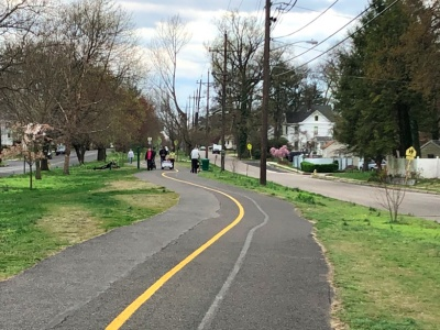 Public Parks, Bike Path Closed