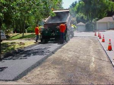 Road paving starts today